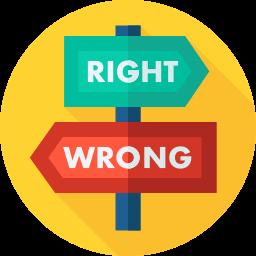 schwierige Entscheidungen treffen